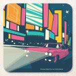 Las Vegas, NV Square Paper Coaster