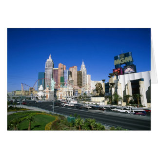 Las Vegas NY NY and MGM Hotels Card