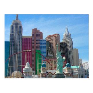 Las Vegas ny ny Tarjeta Postal