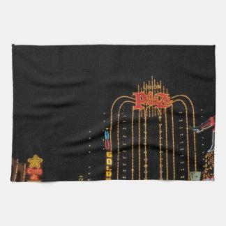 Las Vegas old Fremont Street Hand Towel
