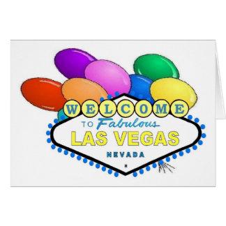 Las Vegas Party Card!