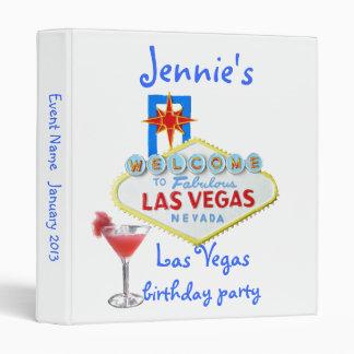 Las Vegas Party Photo Album Binder