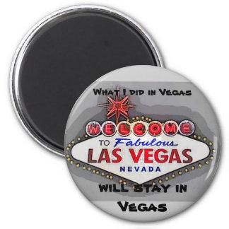 Las Vegas Party Secret Magnet