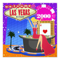 Las Vegas Party - SRF Card