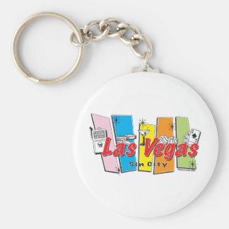 Las-Vegas-Pecado-Ciudad Llavero Personalizado