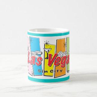 Las-Vegas-Pecado-Ciudad Taza Básica Blanca