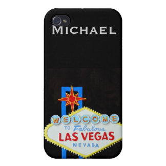 Las Vegas Personalized  iPhone 4/4S Cover