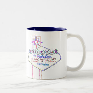 Las Vegas Personalized Special Event Two-Tone Coffee Mug