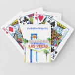Las Vegas personalizó Barajas De Cartas