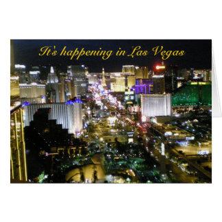 Las Vegas Photo Wedding Invitation