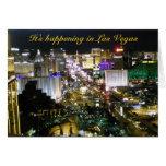 Las Vegas Photo Wedding Invitation Greeting Card