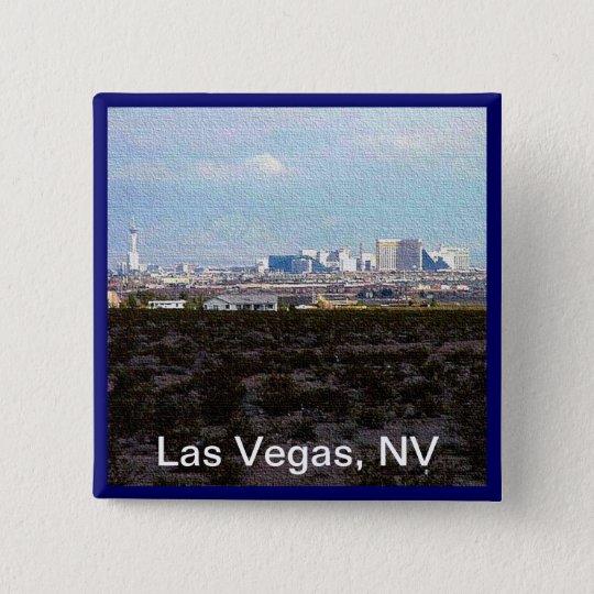 Las Vegas Pinback Button