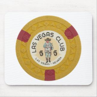 Las Vegas Poker Chip Casino Gambling Obsolete Mouse Pad