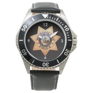 Las Vegas Police Shield Watch