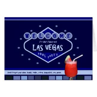 Las Vegas POOL PARTY Card!