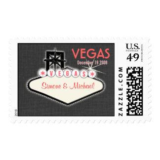 Las Vegas Postage Stamps