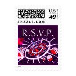 Las Vegas Purple Passion RSVP Postage