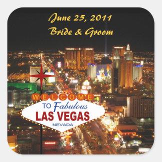 Las Vegas que casa al pegatina