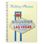 Las Vegas que casa al planificador Libro De Apuntes Con Espiral