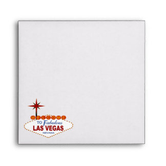 Las Vegas que casa el cuadrado del sobre