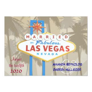 Las Vegas que casa invitaciones Comunicado