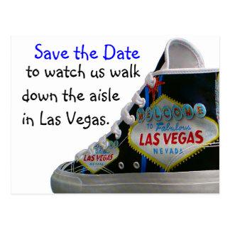 Las Vegas que casa la fecha de la reserva: paseo Tarjeta Postal