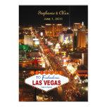 Las Vegas que casa la invitación Invitación 12,7 X 17,8 Cm