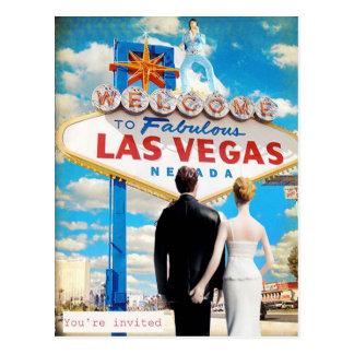 Las Vegas que casa la invitación Tarjetas Postales