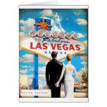 Las Vegas que casa la invitación Tarjeton