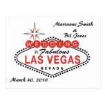 Las Vegas que casa la postal
