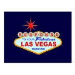 Las Vegas que casa la tarjeta 1 (postal) de la res