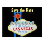 Las Vegas que casa reserva la fecha Tarjeta Postal