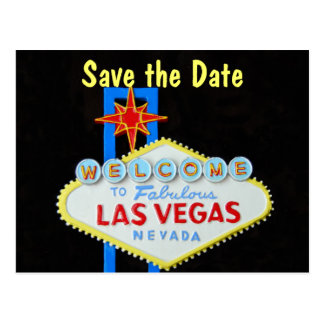 Las Vegas que casa reserva la fecha Tarjetas Postales