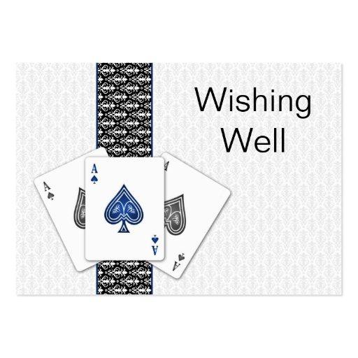 Las Vegas que se casa deseando tarjetas bien Tarjetas De Visita Grandes