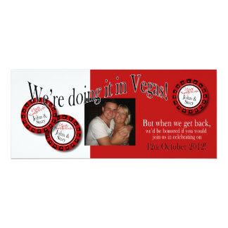 Las Vegas Reception (contact me to personalize 4u) Custom Invites