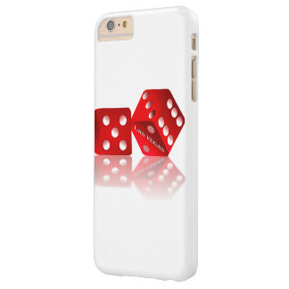 Las Vegas Red Dice Barely There iPhone 6 Plus Case