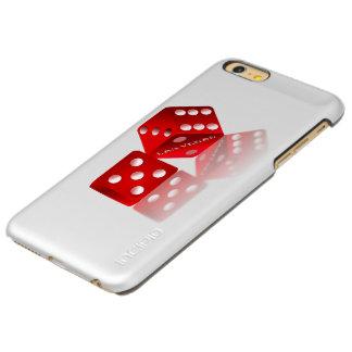 Las Vegas Red Dice Incipio Feather Shine iPhone 6 Plus Case