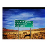 Las Vegas Red Rock Canyon Postcard