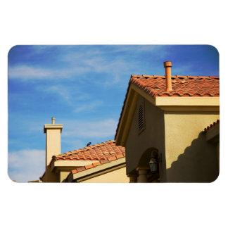 Las Vegas Residential, Southwestern Architecture Rectangular Photo Magnet