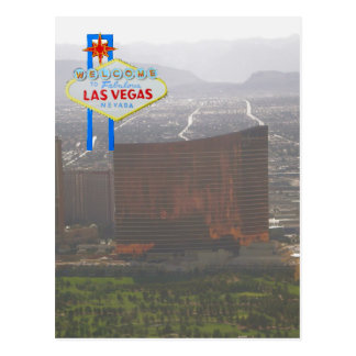 Las Vegas Resort and Golf Course Aerial View Postcard