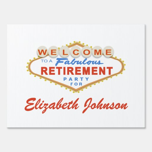 free printable retirement signs free printable retirement cards
