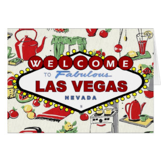 Las Vegas Retro in your Kitchen Card!