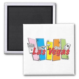 Las-Vegas-Retro Magnet