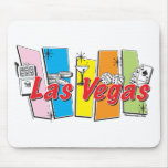 Las-Vegas-Retro Mouse Pads