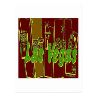 Las Vegas Retro Post Cards