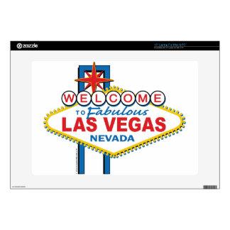 Las Vegas Retro Sign Decals For Laptops