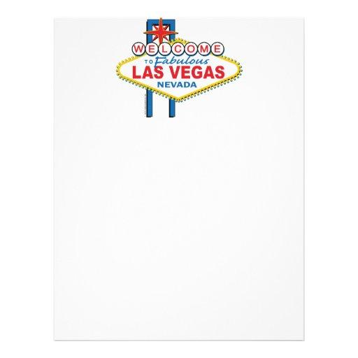 Las Vegas Retro Sign Letterhead