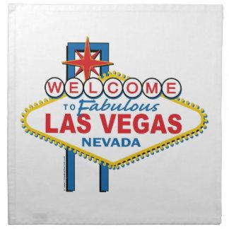 Las Vegas Retro Sign Napkin