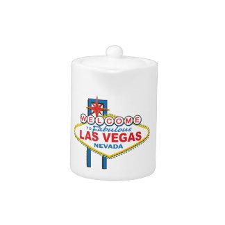 Las Vegas Retro Sign Teapot