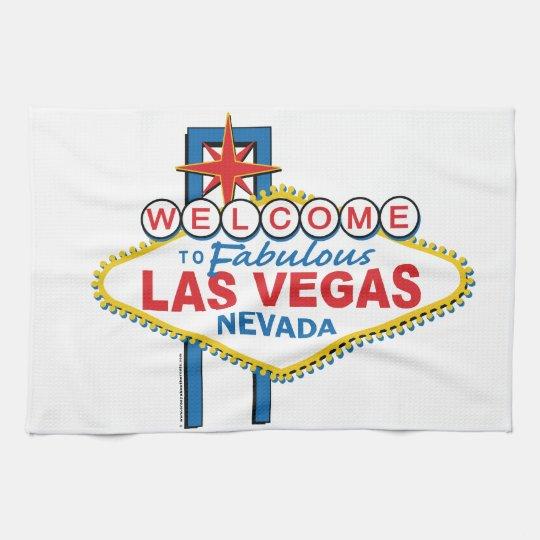 Las Vegas Retro Sign Towel